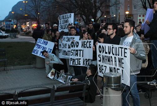 mostar studenti prosvjedi (1)